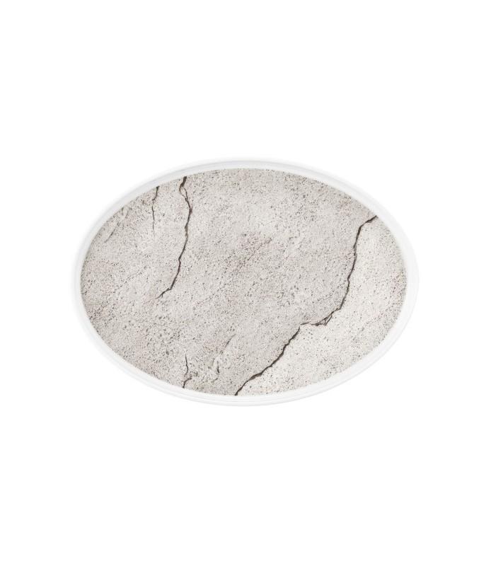 Krožnik  plitvi oval 29 cm M5398 Good Mood 57570