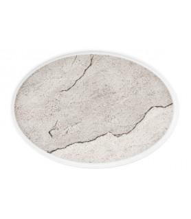 Krožnik  plitvi oval 32 cm M5398 Good Mood 57570