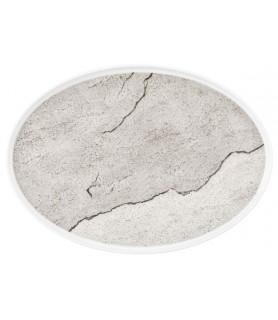 Krožnik  plitvi oval 36 cm M5398 Good Mood 57570