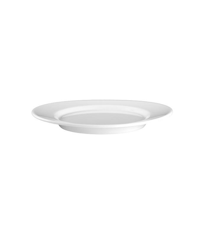 Krožnik plitvi oval 18 cm Mandarin UNI-6
