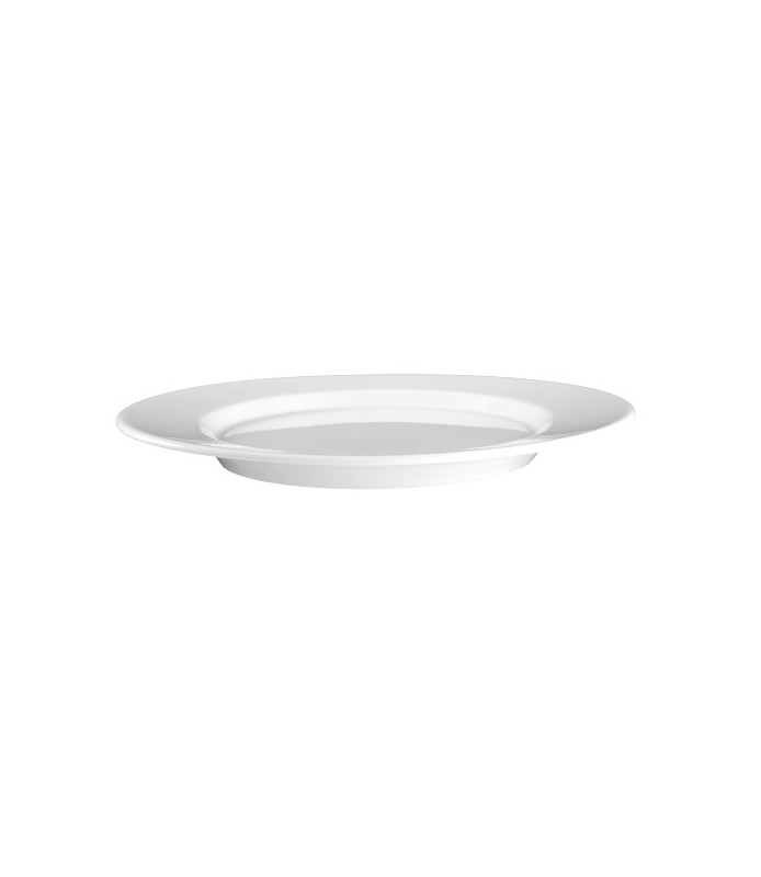 Krožnik plitvi oval 24 cm Mandarin UNI-6