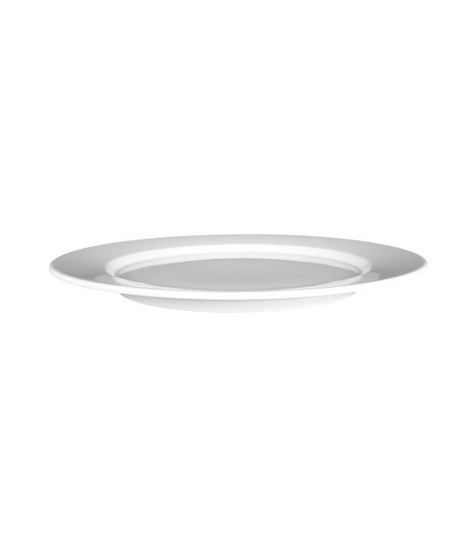 Krožnik plitvi okrogel 30 cm Mandarin UNI-6