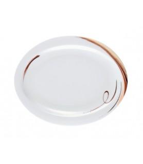 Krožnik  oval 19x15