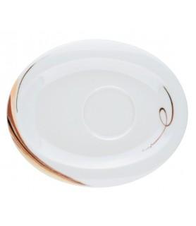 Podstavek za  skodelice oval 19x15