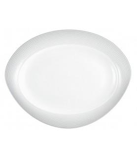 Plošča oval 35x27 cm Trio 23328