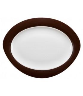 Plošča oval 35x27 cm Trio 23602