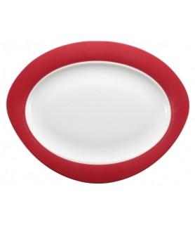 Plošča oval 35x27 cm Trio 23604