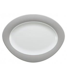 Plošča oval 35x27 cm Trio 23613