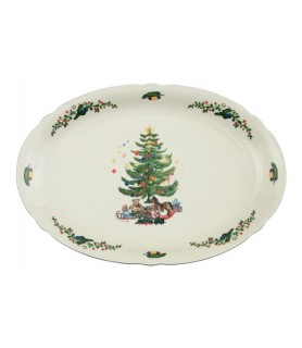 Plošča oval 34x26 cm Marieluise 43607