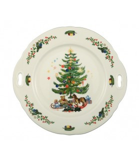 Plošča okrogla 27x26 cm z ročajem Marieluise 43607
