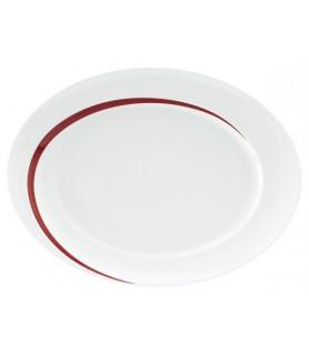 Plošča oval 35x26 cm Paso 23627