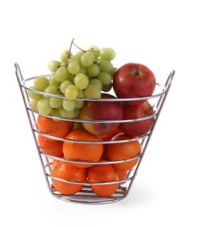 Košara  za  sadje  215x(h)205 mm inox