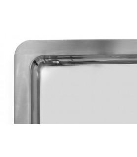 Servirni pladenj g/n 1/1 530x325 mm inox