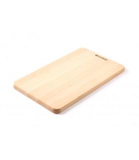 Lesena  deska  za  kruh 340x200x(v)14 mm