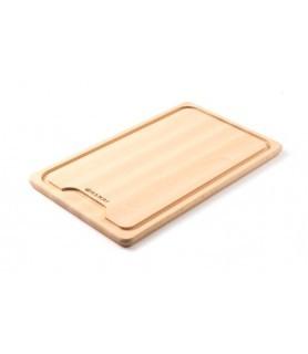 Lesena  deska  za  kruh 390x230x(v)16 mm