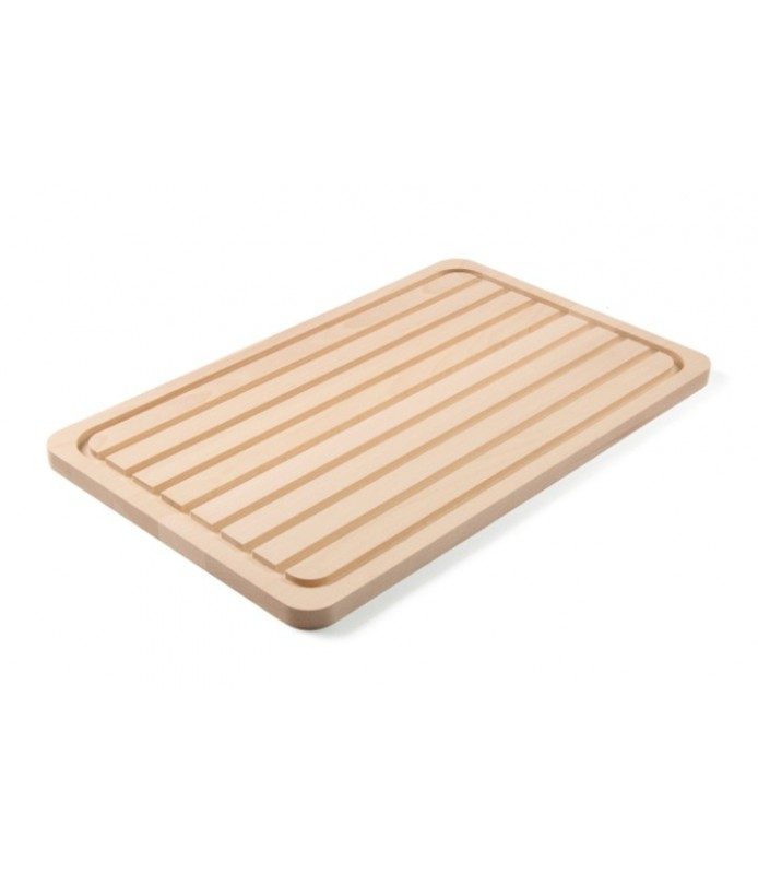Lesena  deska  za  kruh gn 1/1 530x325x(v)18