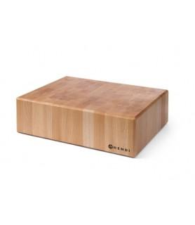 Tnalo čokl 400x500x(h)150 mm leseno