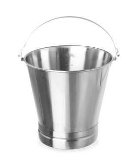 Merilna  posoda 12 l ø300x(h)310 z ročaji inox