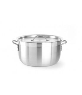 Kozica s pokrovom 18 l 360x(h)200  mm aluminij