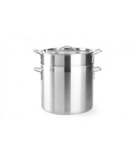 Kozica  za krompir riž in  testenine s košaro in pokrovom 30 l 325x (h) 370 mm aluminij