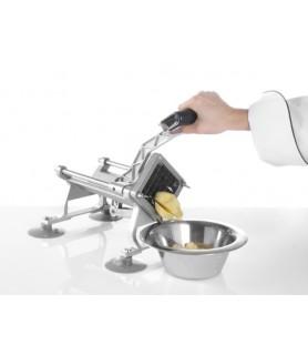 Rezalec  za  krompir  430x168x(h)290  mm inox