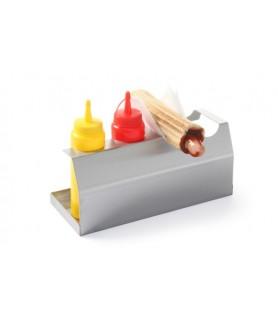 Stojalo  za  hotdog 260x110x(h)118  mm 18/0