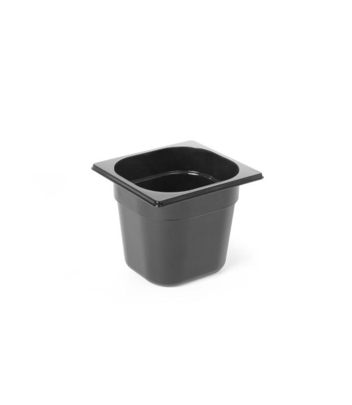 Pc-gn  vložek 1/6  240l črn viš. 150 mm polikarbonat