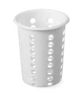 Enodelna košarica za  jedilni  pribor ø97x(h)137 mm polietilen