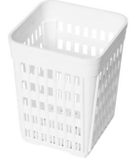 Enodelna košarica za  jedilni  pribor 110x110x(h)140 mm polietilen
