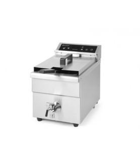 Indukcijsko globoko cvrtje  kitchen line 290x485x(h)406 inox