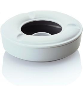 Melamin-pepelnik 12,5cm bel