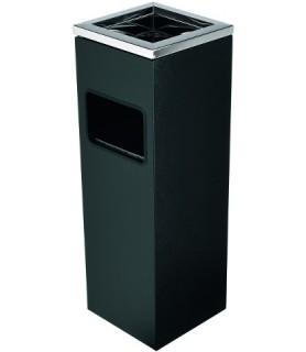Pepelnik zananji črn 20x20 cm viš.60 cm