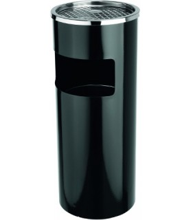 Pepelnik zunanji črn 25 cm viš.60 cm