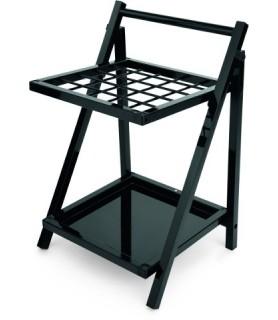 Stojalo kovinsko črno 45x39x68cm