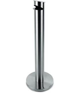 Pepelnik inox fi-12cm viš.92cm teža 12kg.