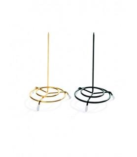 Držalo za bloke, 15 cm, zlato, jeklena žica