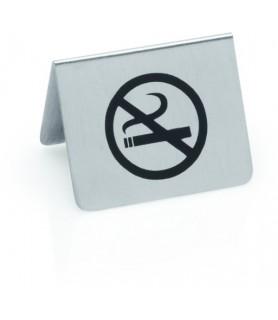 """Stojalo inox, 5x4cm """"prepovedano kajenje"""""""