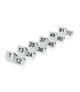 Št. Za označevanje miz 49-60
