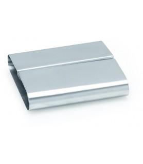 Stojalo za kartice inox 8x7,5x2,2 cm