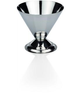 Kozarec za sladoled inox fi-9,5 cm viš.8cm