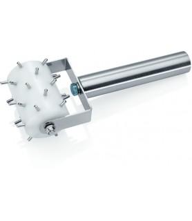 Valjček za luknanje testa -7,0 cm širok, močnejša izvedba
