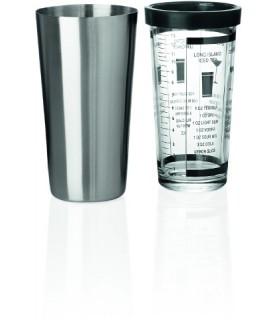 Shaker s steklenim vložkom 0,6 l