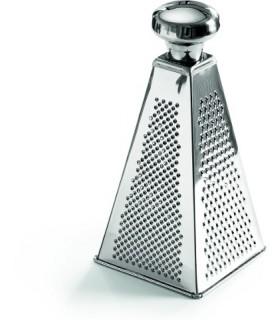 Ribežen štiristranski, piramida, 25 cm, nerjaveče jeklo