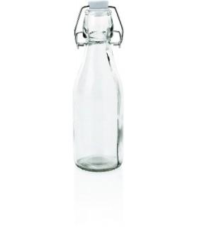 Steklenica z zapiranjem na patent
