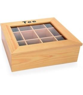 Lesen zabojnik za čajne vrečke 12 predalov 32x28,5x10cm