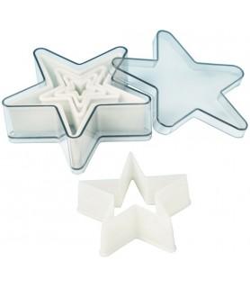 Set 5-delni izsekačev zvezda 5 kraka 2-13 cm