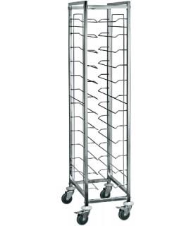 Regal etažen 12-delni za pladnje