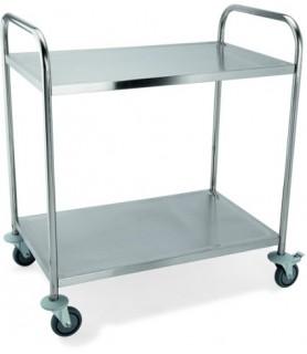 Servirni voziček kovinski 2 polici
