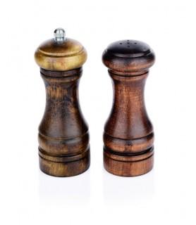 Posipalec za sol lesen 13 cm
