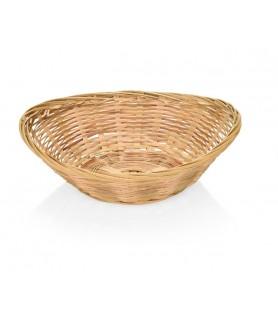 Bambus-košara za kruh, oval 25x19cm